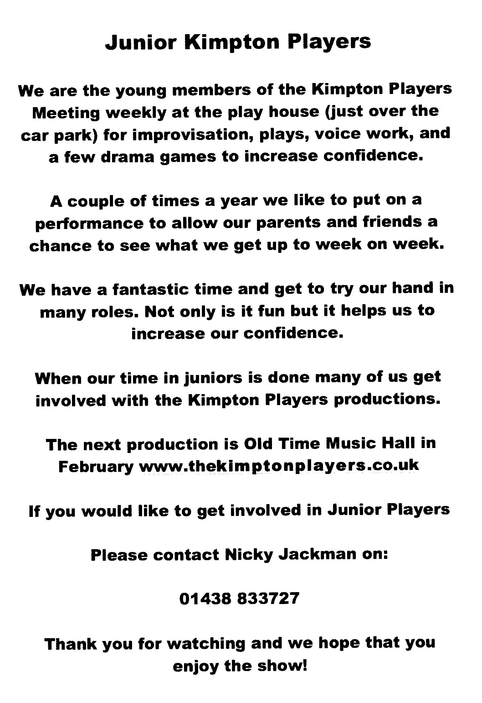 time up productions contact